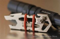 Urban Operators™ Titanium EDC Tool - Fenix LED Flashlights | Tactical Lights | EDC Tactical Gear