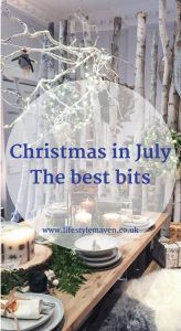 It's not Christmas and it's not July, but here are my picks from the press previews, where the retailers show off their festive fayre, including food, technology, fashion, beauty and homewares. Christmas in July: the best bits…