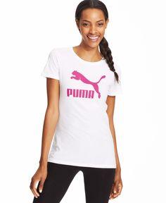 Puma Logo Short-Sleeve Tee