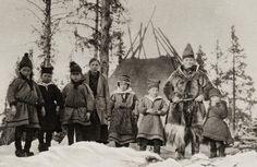 sami nomads | The Saami - Samisk - Sámi*: About 100 Years Ago in Swedish Sapmi ...