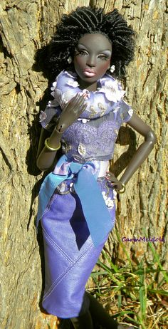 Purple is royalty Beautiful Barbie Dolls, Vintage Barbie Dolls, Pretty Dolls, African American Beauty, African American Dolls, American Makeup, African Beauty, American Women, American History