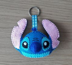 Your place to buy and sell all things handmade Felt Diy, Handmade Felt, Felt Crafts, Felt Ornaments Patterns, Felt Patterns, Lilo And Stich, Toothless And Stitch, Disney Diy Crafts, Felt Keychain