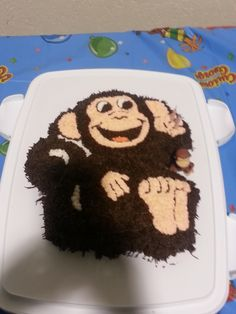 Curious George Cake (Donevan 2)