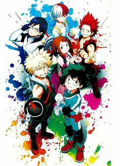 BnHa ~ I love this anime so much!! I really want to read the manga but I also want to wait for the anime!!! Such confliction!! >~<