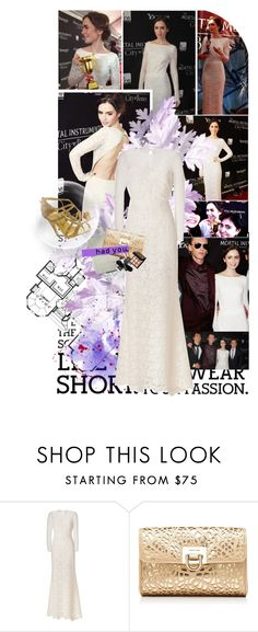 """""""Get the Look: Lily Collins at The Mortal Instruments: City of Bones Toronto Premiere"""" by jesssilva ❤ liked on Polyvore featuring Valentino, Forever New and Ted Baker"""