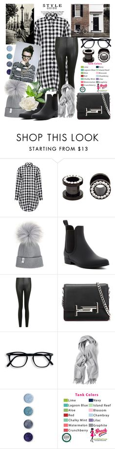 """Casual Style With Over Size Shirt"" by sherryphoenix ❤ liked on Polyvore featuring IRO, Jeffrey Campbell, Topshop, Tod's, Gant Rugger, Terre Mère and Allstate Floral"