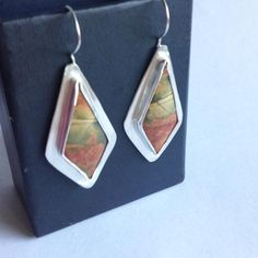 Check out Cherry Creek Jasper Earrings - Kite Shaped in my store today!⚡️  http://heartsabustin.myshopify.com/products/cherry-creek-jasper-earrings-kite-shaped?utm_campaign=crowdfire&utm_content=crowdfire&utm_medium=social&utm_source=pinterest