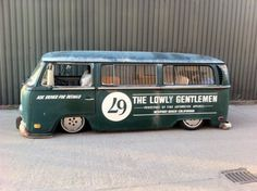 The Lowly Gentlemen bus is finally done over at the Type 2 Detectives. Vw Volkswagen, Volkswagen Bus, Vw Camper, Wolkswagen Van, Combi Vw, Drift Trike, Vw Vintage, Transporter, Performance Cars
