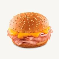 Arby's Jr Ham and Cheddar