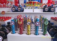 Tubets dos Heróis  Heroes /  Avengers decoration