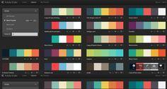 flat color palette - Cerca con Google