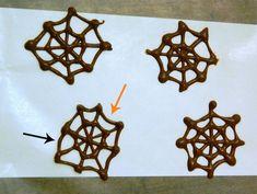 Chocolate webs
