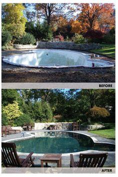 Anthony & Sylvan gave this unusable pool new life!
