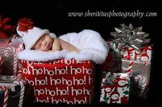 Baby Christmas card!