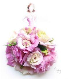 Fashion-illustration florale myfashionlove