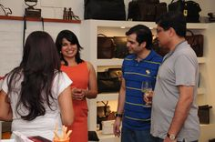 26/10/2013 Launch of the latest Collection @ The Leather Boutique | Alpine Winery was happy to sponsor the launch of the latest collection of leather accessories of The Leather Boutique & the launch of a bags Limited Edition Collection by the Italian designer, Farotto Viaggi.