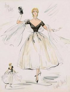 Edith Head...the ultimate fashion guru of 1950's !