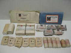 WO II - lot Duits medisch verband - DRK - Rode Kruis