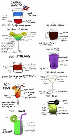 avenger cocktails
