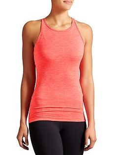Renew Tank - Unstinkable recycled poly wicks sweat in a breathable, high-neck design with ribbed panels for a fit that moves with you.