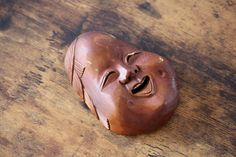 Vintage Japanese wooden mask carved from one piece of wood Vintage Gifts, Vintage Decor, Etsy Vintage, Vintage Shops, Vintage Items, Vintage Wood, Vintage Style, Antique Collectors, Antique Stores