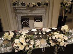 オーナメントやキャンドルを : 梨花が火付け役?イニシャル・古書・フォトフレームなど・・花以外も飾ろう!イマドキのウェディング装花。 - NAVER まとめ