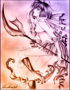 Sailor Saturn Sketch II by Giname.deviantart.com on @deviantART