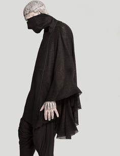 Visions of the Future: Rick Genest, dark and macabre fashion gothic fashion