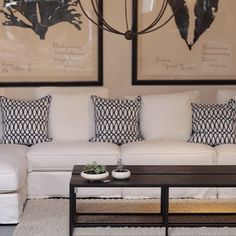 """""""Another shot of these cool tables with the way cool new slipcovered sectional we just put on the floor in Winter Park.  This is a must see, must sit sectional and part of our private label collection. Also note the @naturalcuriosities beauties peeking at you in the background #canvasinteriors #canvasinteriorsflorida #canvasinteriorsaltamonte #canvasinteriorsfurniture #canvasinteriorswinterpark #canvasinteriorsjacksonville #furniturewinterpark #furniturestoreflorida #furniturestorewinterpark…"""