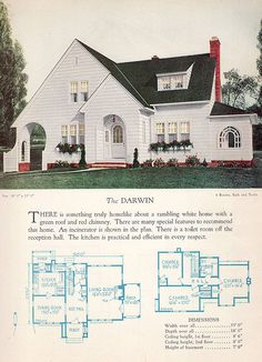 1928 Home Builders Catalog - The Darwin | Flickr - Photo Sharing!
