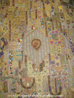 Beaded textile - India