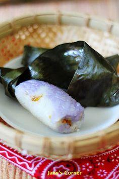 Pulut Panggang Rempah Udang (Grill Glutinous Rice with Dried Shrimp)