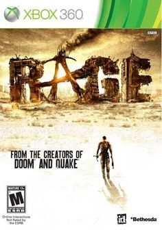 RAGE is a groundbreaking first-person shooter set in the not-too-distant future after an asteroid impacts Earth, leaving a ravaged world behind. You emerge into this vast wasteland to discover humanit