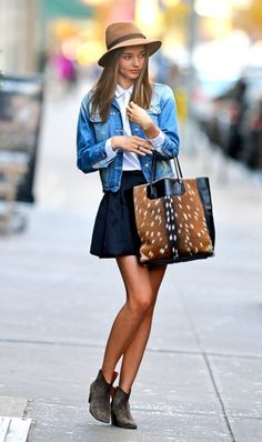 Streetstyle darling 2012: Miranda Kerr - Style - Fashion - Celebs - Home - ELLE Belgi | More outfits like this on the Stylekick app! Download at http://app.stylekick.com