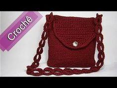DIY - Crochê - Bolsa Retangular (Passo a Passo) Mari Trentini - YouTube
