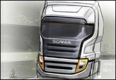 Allan Macdonald Scania Truck