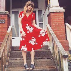 @mistyfox looking like a in the Misty dress. #archivebyalexa