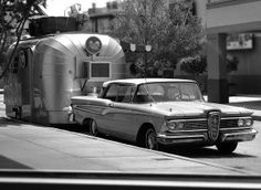1959 Edsel I know, but I love it with the trailer