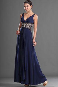 eDressit Anziehende V-Cut Ausschnitt Sexy Abend Kleid (00128105)