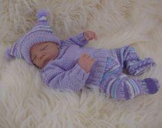 Baby meisjes patroon Download PDF breien door PreciousNewbornKnits