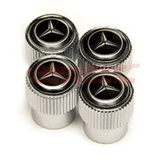 Mercedes Benz Black Logo Tire Valve Caps $19.95