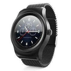 SMA - R Heart Rate Monitor Smart Watch Dual Bluetooth Wristband Price: 84.37 & FREE Shipping #freeshipping