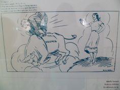 La violencia y su  caricatura , en el salon de contemporaneos , panoptico tercer piso MUSEO NACIONAL bogota DC :