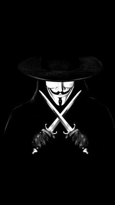 V for Vendetta #anonymous #4chan #hackers