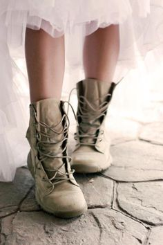 Military bride I want a pic taken like this at my wedding!