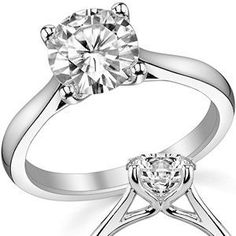 Image result for Six Prong Trellis Solitaire