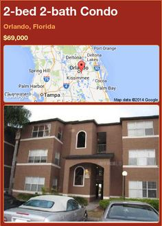 2-bed 2-bath Condo in Orlando, Florida ►$69,000 #PropertyForSale #RealEstate #Florida http://florida-magic.com/properties/78547-condo-for-sale-in-orlando-florida-with-2-bedroom-2-bathroom