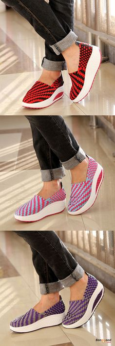 US$26.32 + Free shipping. Size(US): 5~9. Color: Blue, Pink, Purple, Red. Upper Material: Knit. Fall in love with casual and sport style! Summer Sandals, Women Flat Sandals, shoes flats, shoes sandals, Casual, Outdoor, Comfortable.