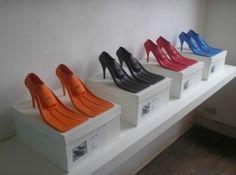 scuba heels ~ designed by belgian artist paul schietekat