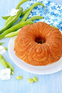 Torta salata fave e pecorino